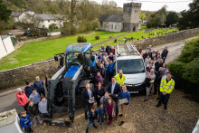 Welsh rural communities celebrate broadband milestone