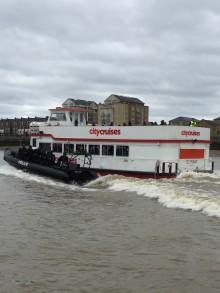 Major terrorism incident exercise on the River Thames