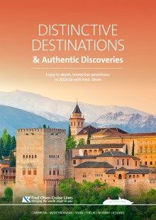 'Distinctive Destinations & Authentic Discoveries' with Fred. Olsen Cruise Lines in 2017'