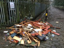 ​Fly-tipper pays the price with £3,500 bill