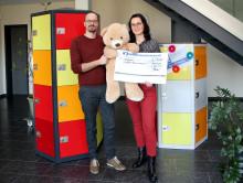 Mietra spendet 30.000 Euro dem Kinderhospiz Bärenherz Leipzig