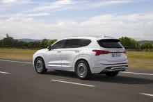 Santa Fe blir større, smartere og ladbar - Hyundai slipper en rekke nye detaljer