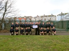Donation supports military preparation college in Eastbourne