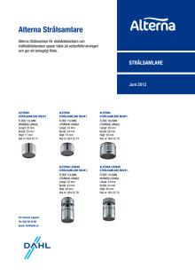 Alterna strålsamlare - Produktblad