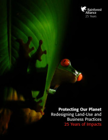 "25-årsrapport ""Protecting Our Planet: Redesigning Land-Use and Business Practices"""