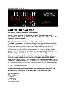 Samtal Salome