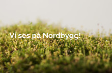 Urbangreen på Nordbygg 10-13 april 2018 i Stockholm