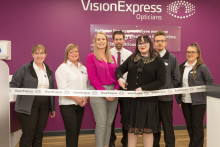 Plymouth local opens new optician after sight was saved following crucial eye test at Vision Express