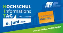 TH Wildau führt ersten #digitalen Hochschulinformationstag (HIT) am 6. Juni durch