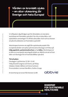 ABBVIE Almedalen Inbjudan Hållbar sjukvård