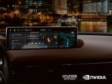 Hyundai lanserer tilkoblet infotainment og kunstig intelligens med NVIDIA DRIVE-plattformen