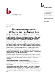 Årets Reumert i nyt format: Mit liv som træ – en Reumert-drøm