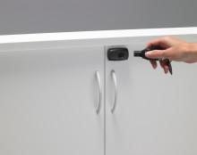 Elektroniskt lås ersätter nyckelknippan