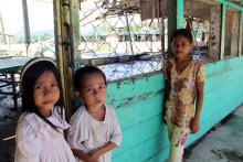 Typhoon Bopha leaves a trail of destruction