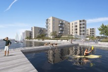 Byggeriet Havnefronten i Horsens går nu igang