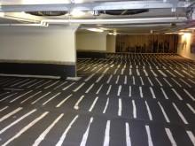 Ny systemlösning för golv i p-hus skyddar armeringen