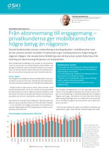 Från abonnemang till engagemang – privatkunderna ger mobilbranschen högre betyg än någonsin