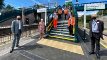 Rail Minister opens new accessible station facilities at Tring