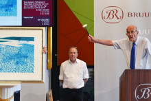 David Hockney-litografi sætter rekord hos Bruun Rasmussen