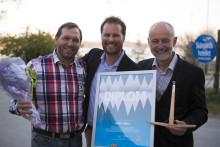 Vinnare av årets skidpriser 2017: Idre Fjäll, Marie Stenmalm och bröderna Paulsson