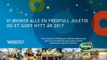 Webstepjulegave til Barnekreftforeningen og Team Rynkeby