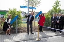 Verwurzelt in Ludwigshafen: Einweihung der AbbVie-Allee