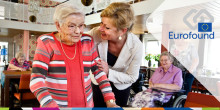 Who is providing care home services for older people in Europe?