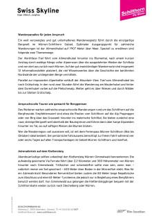 Wanderparadies Mürren-Schilthorn