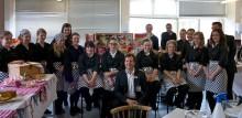 Center Parcs judges Redborne Upper School picnic challenge