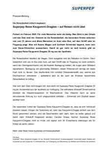 Superpep Reise Kaugummi-Dragées 20 mg – auf Reisen nicht übel
