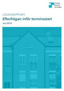 Lägesrapport: Efterfrågan inför terminsstart 2018