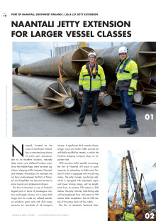 Terramare today Magazine: L26 & L 27 Jetty Extension at port of Naantali