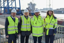 Ports discussed the Ports Act and green transition with the Minister for Transport