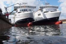 Scandlines' neue Schiffe wieder im Wasser