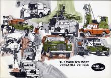 Land Rover 70 år - En alldeles speciell händelse