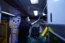 Commissioner praises officers for assisting London Ambulance Service