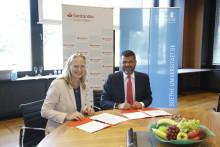Starke Partner auch in Zukunft: Santander und die Goethe-Uni Frankfurt