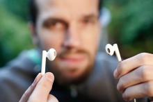 Zu laute Musik schadet dem Gehör