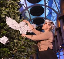 Bea Szenfeld skapar julstämning på Nordiska museet