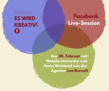Facebook Live-Session mit der Werbeagentur Leo Burnett!