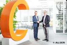 Bürgermeister von Gersthofen Michael Wörle heißt die WALSER GmbH & Co. KG am neuen Standort willkommen