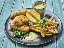 Sjømatretter som gir deg feriefølelsen - fish&chips som bare britene gjør det
