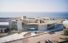 Överbyggnad med ventilation ger renare luft i Öresundsverket