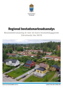 Regional bostadsmarknadsanalys Värmland 2019
