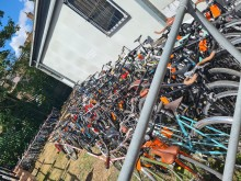 More than 100 suspected stolen bicycles seized following warrant in Hackney