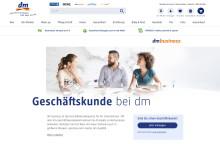 Neues Portal für Geschäftskunden - dm bietet mehr Services und effiziente Einkaufsmöglichkeiten für business Kunden