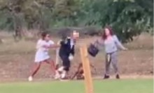 Image released of two women after elderly couple assaulted in Regents Park