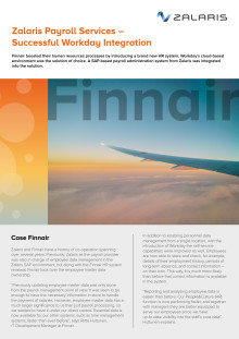 Successful Workday Integration for Finnair