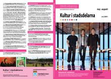 Kultur i stadsdelarna nr 2 2011