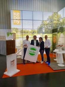 GALABAU 2018: Kebony erhält Innovationsmedaille